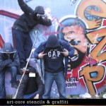 EZP & FRIENDS : exposition « Art-core stencils et graffiti »
