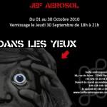 """Exposition de Jef Aérosol """"dans les yeux"""""""