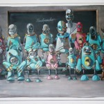 """Exposition Pixel Pancho """"Save the robots"""""""