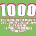 1000 – l'exposition Space invader
