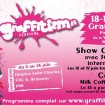 Festival GRAFFITIZM du 4 au 26 juin