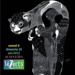 Lezarts de la Bièvre 2012 du 7 au 10 juin 2012 . Cette année, c'est Philippe Baudelocque