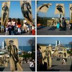 Zoo Project et son complice Antoine Page à Odessa pour rejouer Potemkine