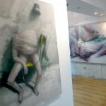 """Quelques photos de l'exposition BomK """"Vertiges & Somnolence"""""""
