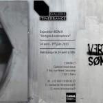 Exposition BOM.K [ Vertiges & Somnolence ] Du 24 avril au 1er juin 2013 – Galerie Itinerrance
