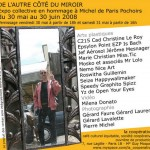 """Exposition """"de l'autre côté du miroir"""" en hommage à Michel Longhi"""