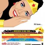"""Exposition de SICH """"Hi Love"""" le 28/05/2008"""