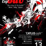 """Exp'ODV – """"Du mur à la toile"""" avec Astro//Esty//Kanos"""