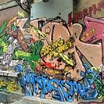 Rendez-vous graffs, tags… durant le Festival Paris Hip Hop 2009.