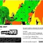 """Exposition collective """"Scratch Paper"""" à l'Arrière Boutique du 9e Concept"""