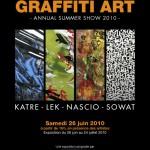 Exposition: Katre – Lek – Nascio – Sowat le 26/06/2010 [Paris]