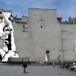 Fresque monumentale de Jef Aérosol Place Stravinski [Paris]