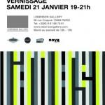L'ATLAS à la Galerie Lebenson du 21/01 au 18/02/12