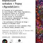 Exposition Orkadre + Popay du 20 au 27 février 2012