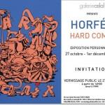 Exposition personnelle Horfée [Hard Comix] du 27/10 au 01/12/2012