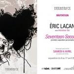 Première exposition d'Eric Lacan alias Monsieur Qui du 06 au 17 avril 2013
