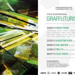 Cycle expositions Graffuturism – Group Show le 20/04/2013